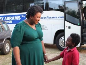 Stacey Abrams. Foto: Cortesía de la campaña de Stacey Abrams.