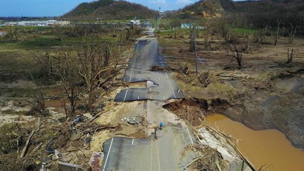 Puerto Rico Pide ayuda a la comunidad internacional, ante el desdén del gobierno federal de EEUU para atender la catástrofe. Foto: www.radiochilefm.cl.