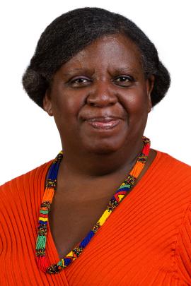 Janette Robinson Flint, directora ejecutiva de Black Women for Wellness, una organización sin fines de lucro con sede en Los Angeles que ayuda a las mujeres a econtrar servicios de salud apropiados y asequibles, dice que el racismo y la discriminación, así como el estrés que causan los crímenes violentos, pueden llevar a la depresión y ansiedad, especialmente en barrios con predominio de residentes de raza negra.  (Cortesía de Janette Robinson Flint).