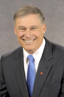 El gobernador Jay Inslee (D-Wash). Foto: Cortesía de la Oficina del Gobernador de Washington.