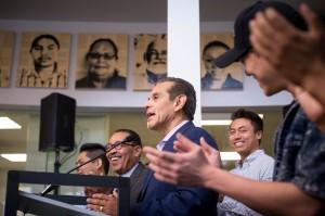 Antonio Villaraigosa, exalcalde de Los Ángeles y candidato demócrata a la gunernatura de California. Foto: wwwsailynews.com.