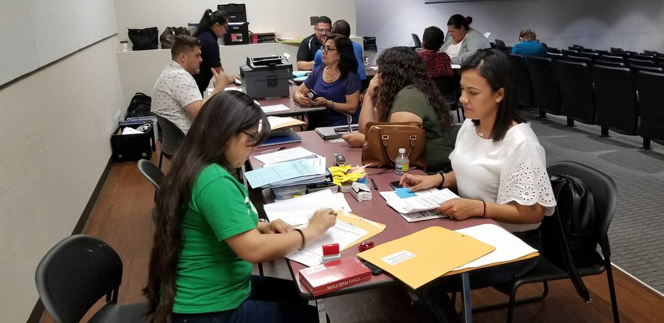 Registro voto mexicanos en el exterior, para elecciones presidenciales en México 2018. Foto: COFEN / Facebook.