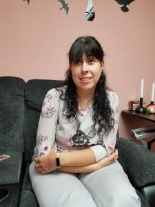 Anel Flores, Coordinadora Legal y de programas de MCTF. Foto: Rubén Tapia.