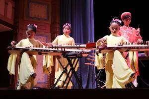 Grupo Au Co, integrado por niños, adolescentes y adultos que tocan instrumentos milenarios de Vietnam. Foto: Sonia Narang/ACTA.