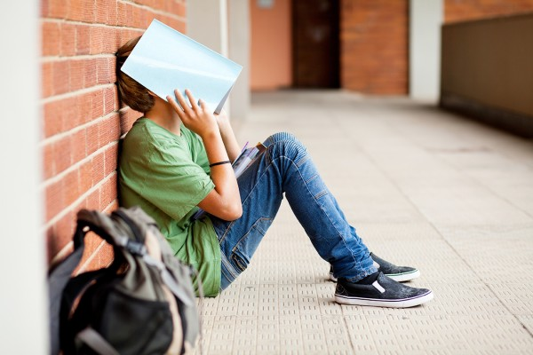 Tired high school student.  (iStock/Getty Images).