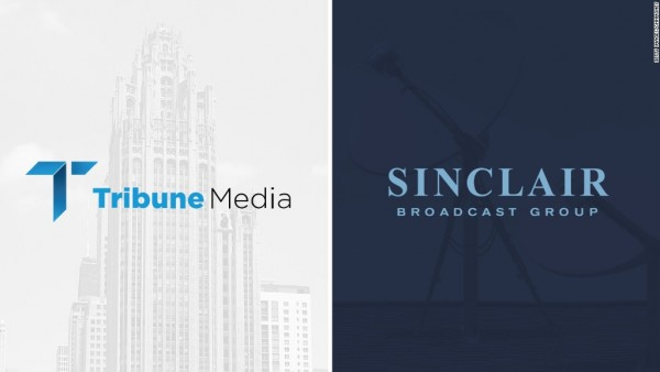 El lunes por la mañana Sinclaire acordó comprar Tribune Media por $ 43.50 por acción, valorando el trato en 3 mil 900 millones de dólares. Foto: www.pittbulldogbread.com.