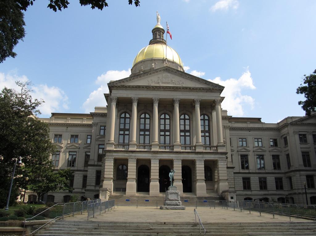 El Capitolio estatal de Georgia, donde se aloja la Legislatura. Foto: Flicker.