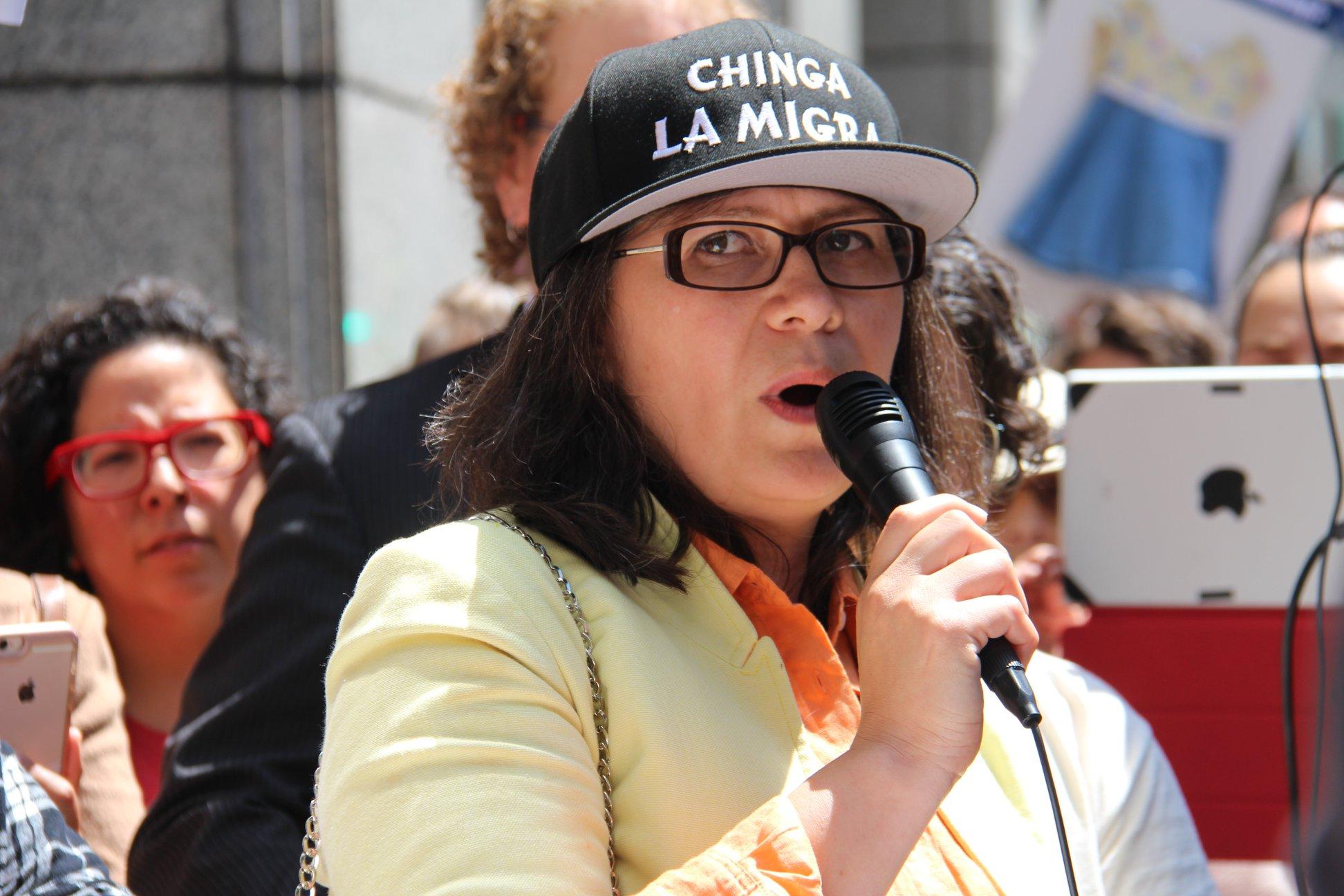 Maru Mora Villalpando, de Resistir a NWDC / NWDC Resistance. Foto: Facebook.