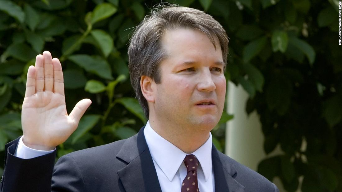 Juez Brett Kavanaugh. Foto: NPR