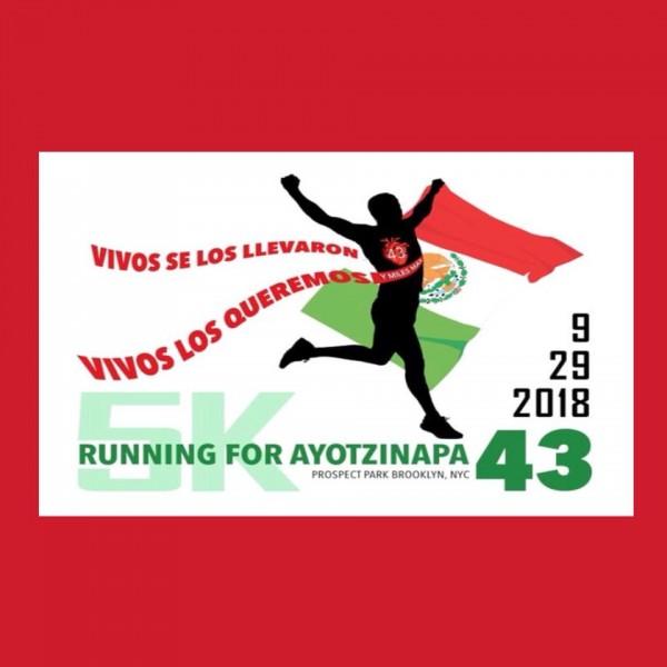 Foto: comunidad mexicana organizada en Nueva York en busca de verdad y justicia por Ayotzinapa.