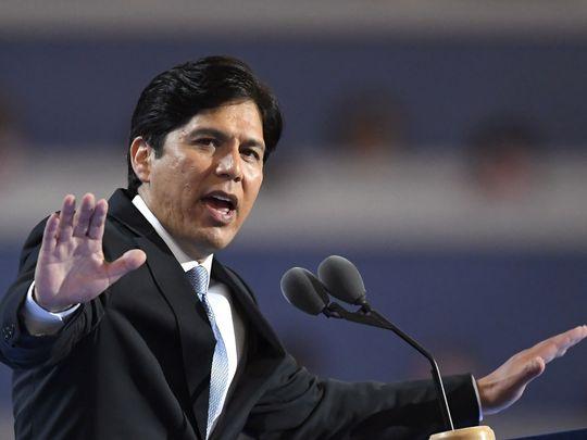El líder del Senado de California, Kevin de León, demócrata de Los Ángeles, en 2016. Foto: Mark J. Terrill / A.P.
