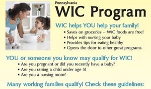 WIC program. Foto: Bradford Regional Medical Center.