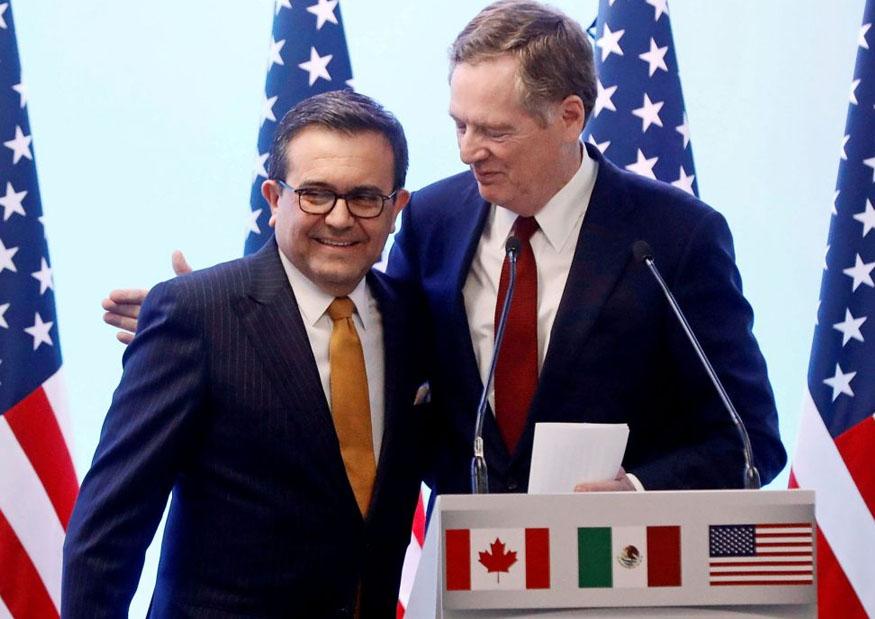 México y EU alcanzan acuerdo por TLCAN. Foto: El Dictamen.