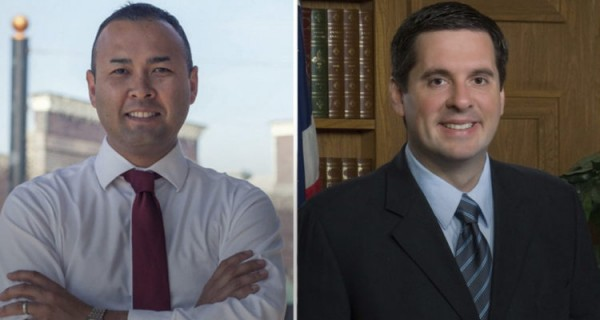 On the right is Davin Nunes, the titular Republican congressman in District 22 of the federal Congress and president of the Intelligence Committee of the House of Nunes for the congressional seat of District 22. Photo: www. gvwire.com