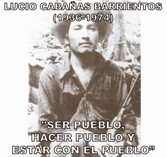 Lucio Cabañas Barrientos. Foto: La Voz del Anáhuac-sexta x la libre.
