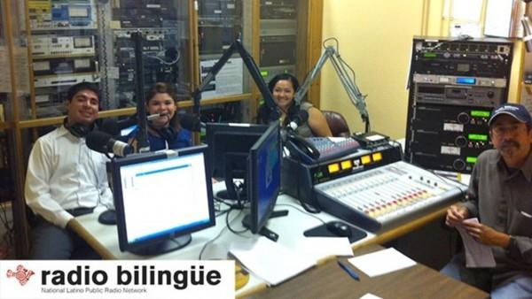 Miembros de nuestra Red de Radio Pública Nacional Latina de Radio Bilingüe con sede en California. Foto: www.keyt.com.