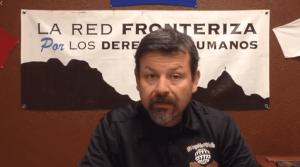 Fernando García, director ejecutivo de la Red Fronteriza por los Derechos Humanos.Foto: Facebook