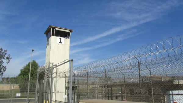 Entrada de la prisión de NORCO.