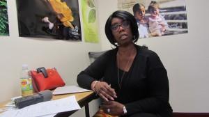 Vicky Grace, Encargada del Departamento de Recursos Comunitarios de NORCO.