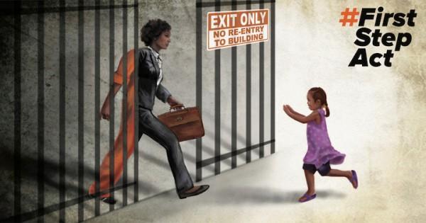 ¡No hay tiempo que perder! ¡Únase a nosotros para pedirle al Congreso que PASE la LEY del PRIMER PASO!. Foto: www.firststepact.org.