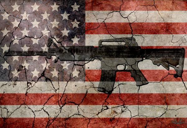 Visualizando las muertes por armas en Estados Unidos, en comparación con el resto del mundo. Una verdadera crisis humanitaria. Foto: Humanosphere.