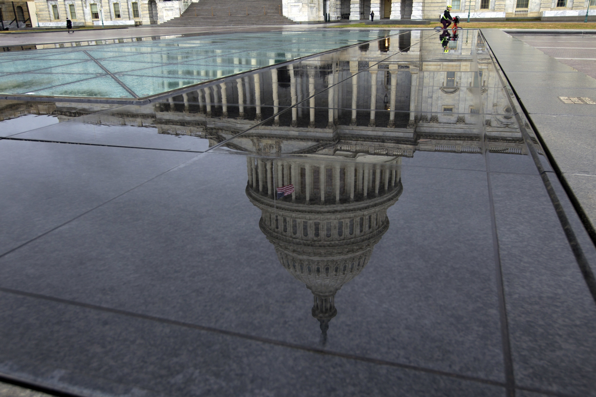 Cierre de gobierno en el área de DC. Trabajadores del gobierno suspendidos. Foto: WTOP.com.