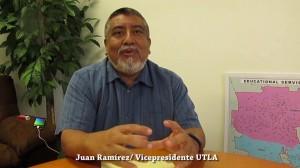 Juan Ramírez, Vicepresidente de UTLA.