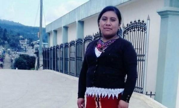 Juana Raymundo, enfermera y activista ixil-maya, torturada y asesinada en Nebaj, Guatemala. Foto: Twitter/@PrensaComunitar.