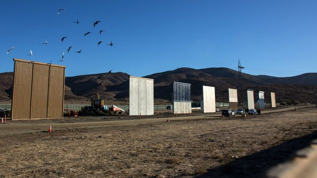 The Hill Guard the US-Mexico border with paper, not walls