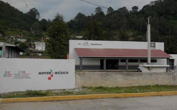 Imagen de la sede de XETLA, La Voz de la Mixteca en tlaxiaco, Oaxaca. Mx. Foto: cortesía de la La Voz  de la Mixteca.
