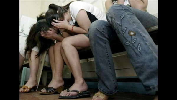 Migrantes víctimas de trata sexual. Foto: YouTube.