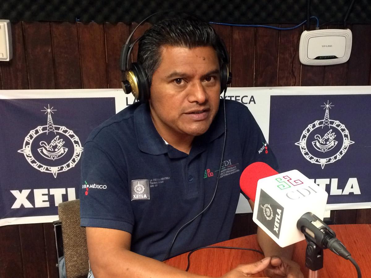 Melchor García López envía mensajes a los hermanos migrantes de la Mixteca que andan por EEUU. Foto: gob.mx.