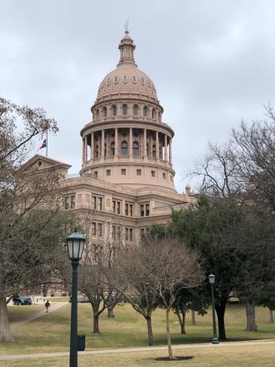 Capitolio en Austin, Texas.