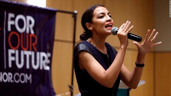 La representante electa Alexandria Ocasio-Cortez entiende la promesa de un