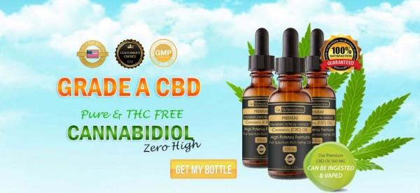 El aceite de grado A CBD es completamente seguro para la salud. Da confianza, reduce el estrés y la depresión de forma natural. Foto: wellnesstrials.com.