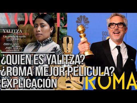 Yalitza Aparicio y Alfonso Cuarón. Foto: musicuda.com.