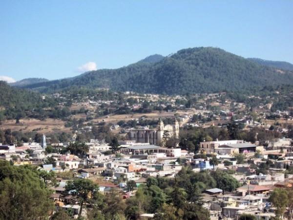 La ciudad de Tlaxiaco, Oxaca, Mx. Foto: Tourism in real mexico.
