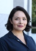 Daisy Vieyra, de ACLU del norte de California, asesora de la AB 392.