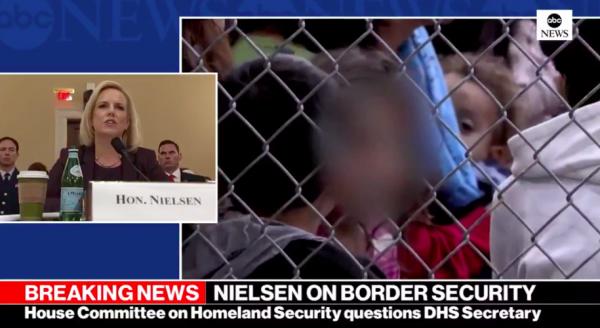 La titular del Departamento de Seguridad Nacional, DHS, Kirstjen Nielsen en la comparecencia ante el Comité de Seguridad Nacional de la Cámara de Representantes. Foto: https://www.tapatalk.com.