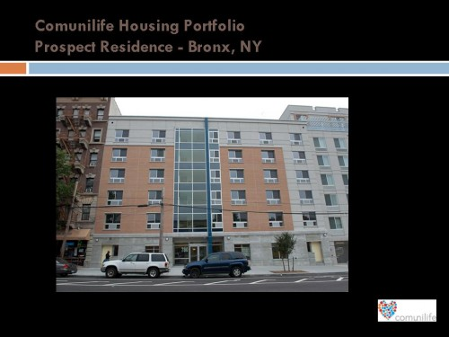Proyectos de vivienda comunitaria de los programas de ComuniLife. Foto: ComuniLife web page.