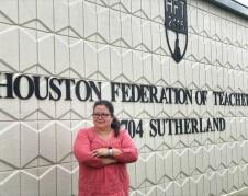 Sonia González, abogada del Sindicato de Maestros de Houston, Texas. Foto: Mariana Pineda.