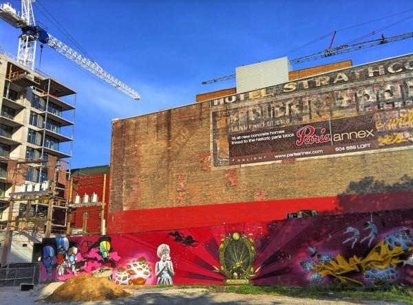 Las construcciones de altos edificios van abracando todos los espacios antiguamente habitados por las comunidades. Foto: cortesía de Kyle Pearce / www.thebolditalic.com.