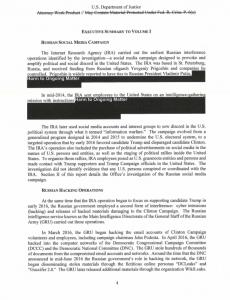 Otro pasaje del reporte Mueller.