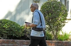 Trabajador del censo.  Foto: U.S. Census Bureau