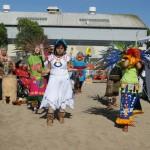Danza Azteca Xitlalli bendice el lugar. Foto: Fernando Andrés Torres