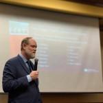 Jeff Calyton, Director  Ejecutivo de American Bail Coalition, habla a un grupo de agentes en Missouri. Foto: American Bail Coalition.