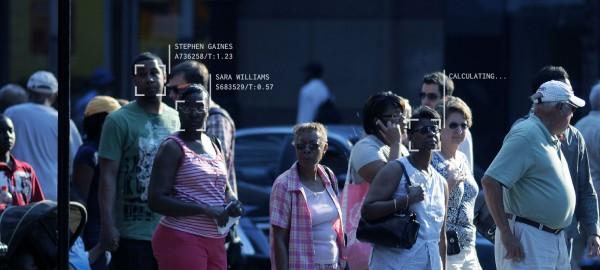 Fotografía obtenida con el uso de un programa de computación (software) parra tecnología de reconocimiento facial. Foto: www.perpetuallineup.org.