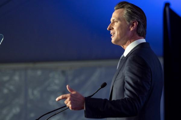 Gobernador de California, Gavin Newsom. Foto: Oficina del estado de California.