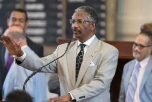 Representante demócrata, Harold Dutton, creador del proyecto de Ley HB 344. Foto: Mariana Pineda.