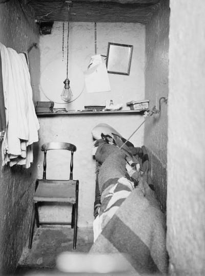 Una celda para el confinamiento solitario en la legendaria cárcel neoyorquina de Sing Sing. Foto: commons.wikimedia.org.